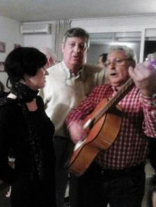José Félix con compañeros de la Asociación Pulmón Madrid TX